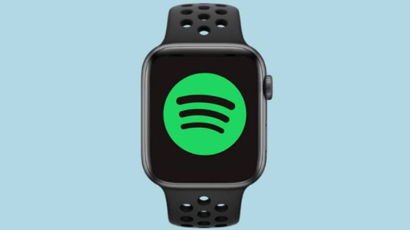 spotify music en apple watch