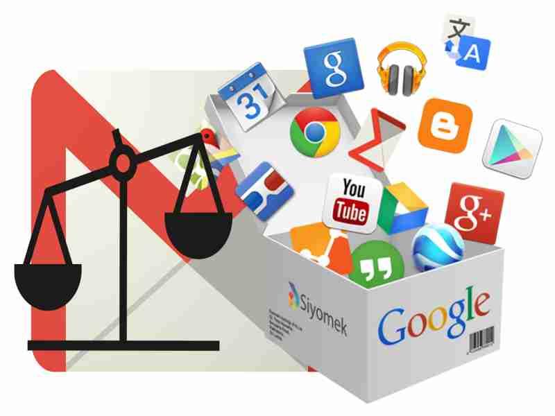 servicios google relacionados entre si