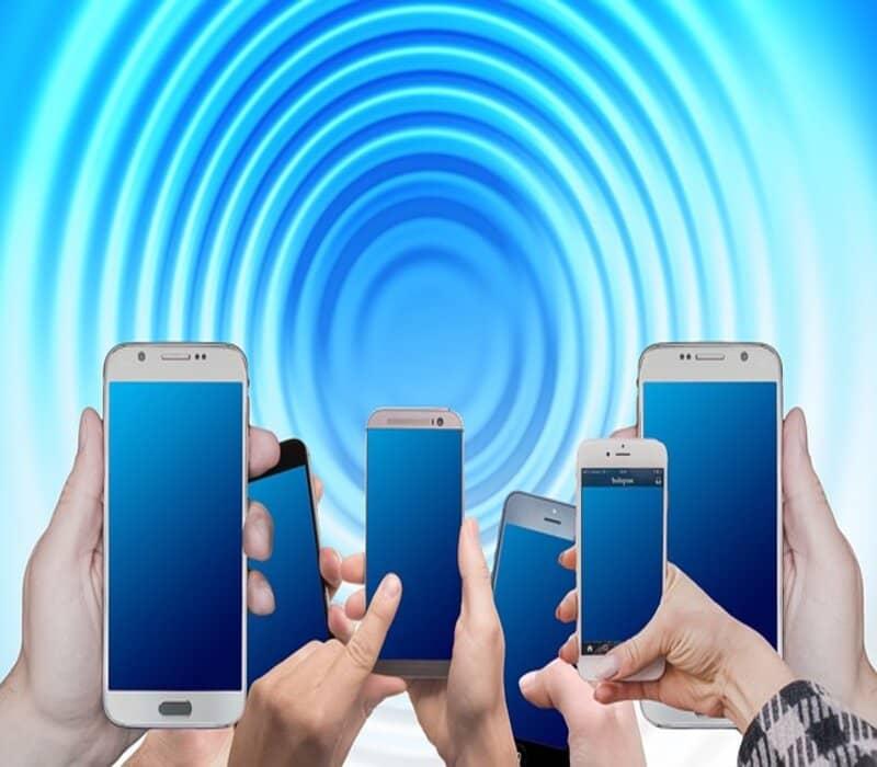 smartphones usando signal