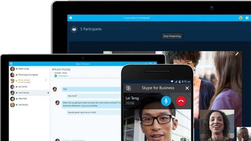videollamada skype