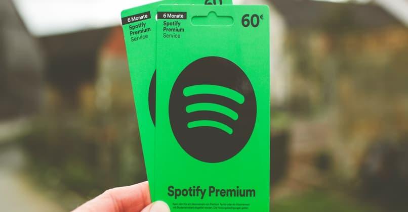 spotify premium card plans