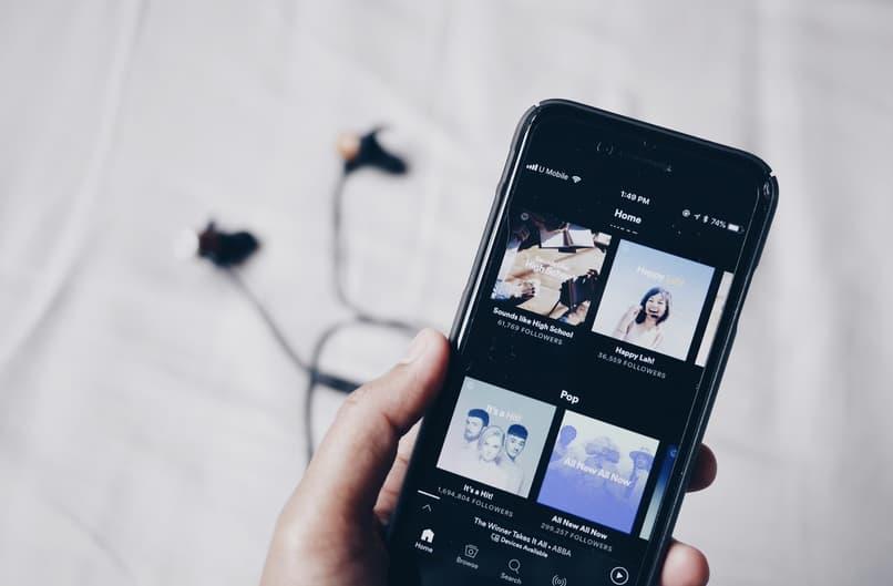 spotify phone songs see lyrics