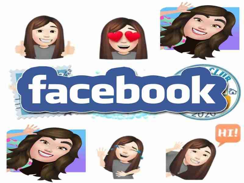 stickers en forma de avatares para compartir