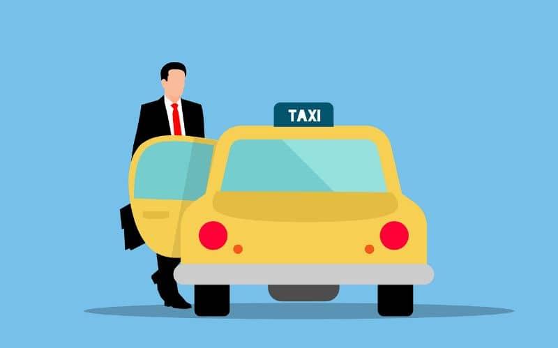 taxi solicitar viaje