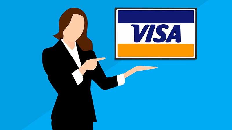 usar tarjeta visa para pagar