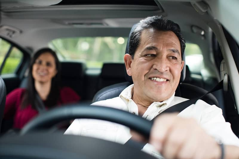 persona conduciendo para didi