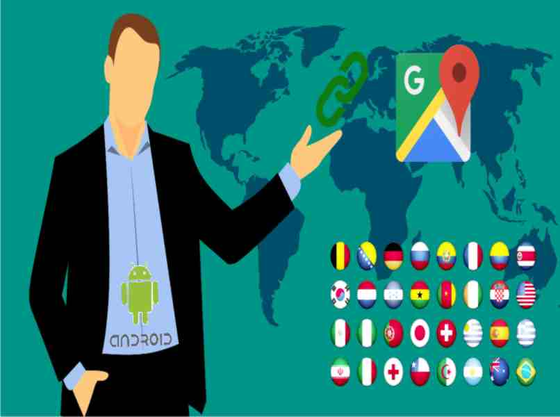 google maps available for any country