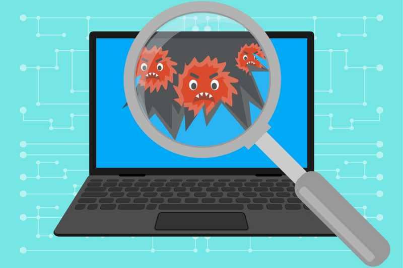 detectar virus pc laptop windows