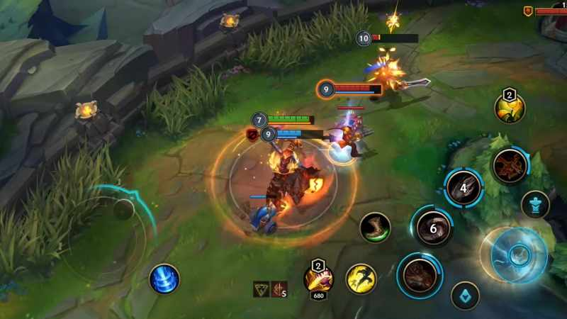 juego movil celular android league of legends espanol