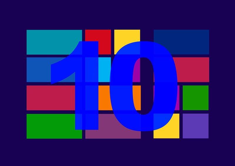 diseno del inicio de windows 10