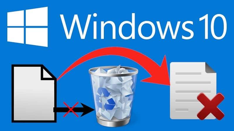 eliminar archivo de la papelera de windows