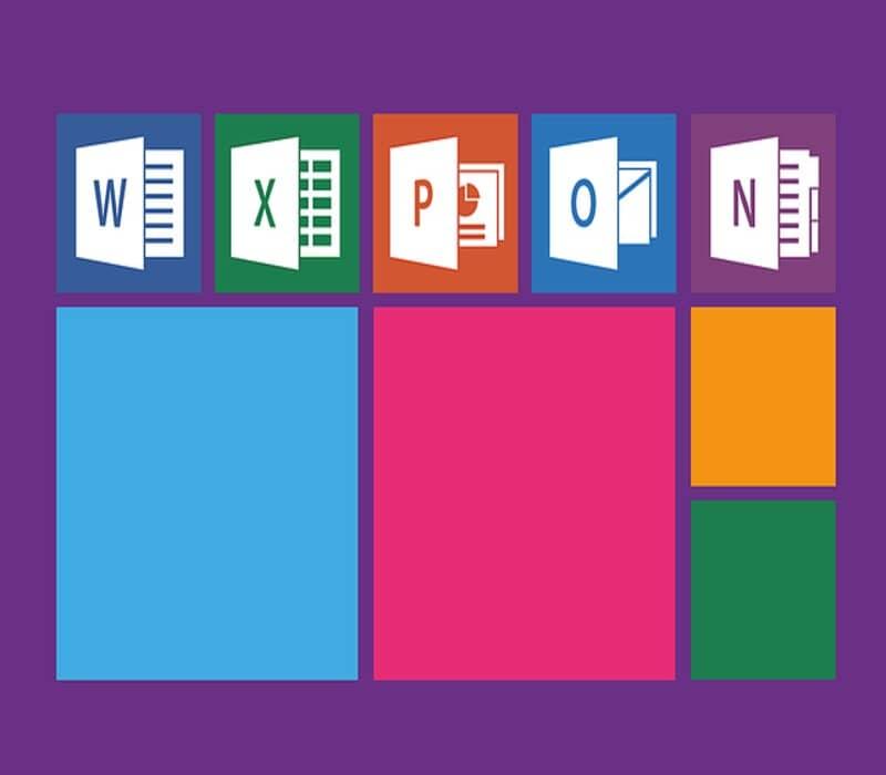 paquete microsoft office con word y excel