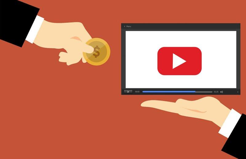 generating money through the YouTube app